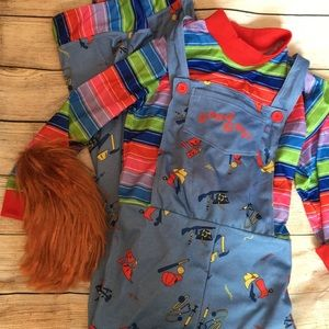 Other - CHUCKY costume with wig